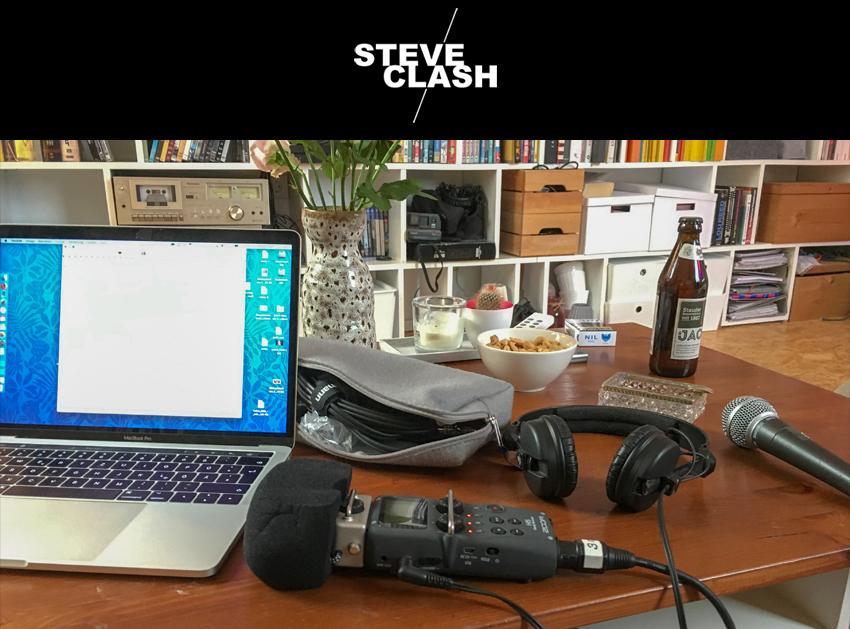 Steve Clash DJ Logo